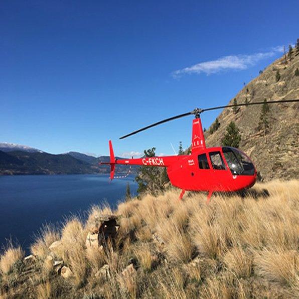 Kelowna Okanagan sightseeing adventure helicopter tours