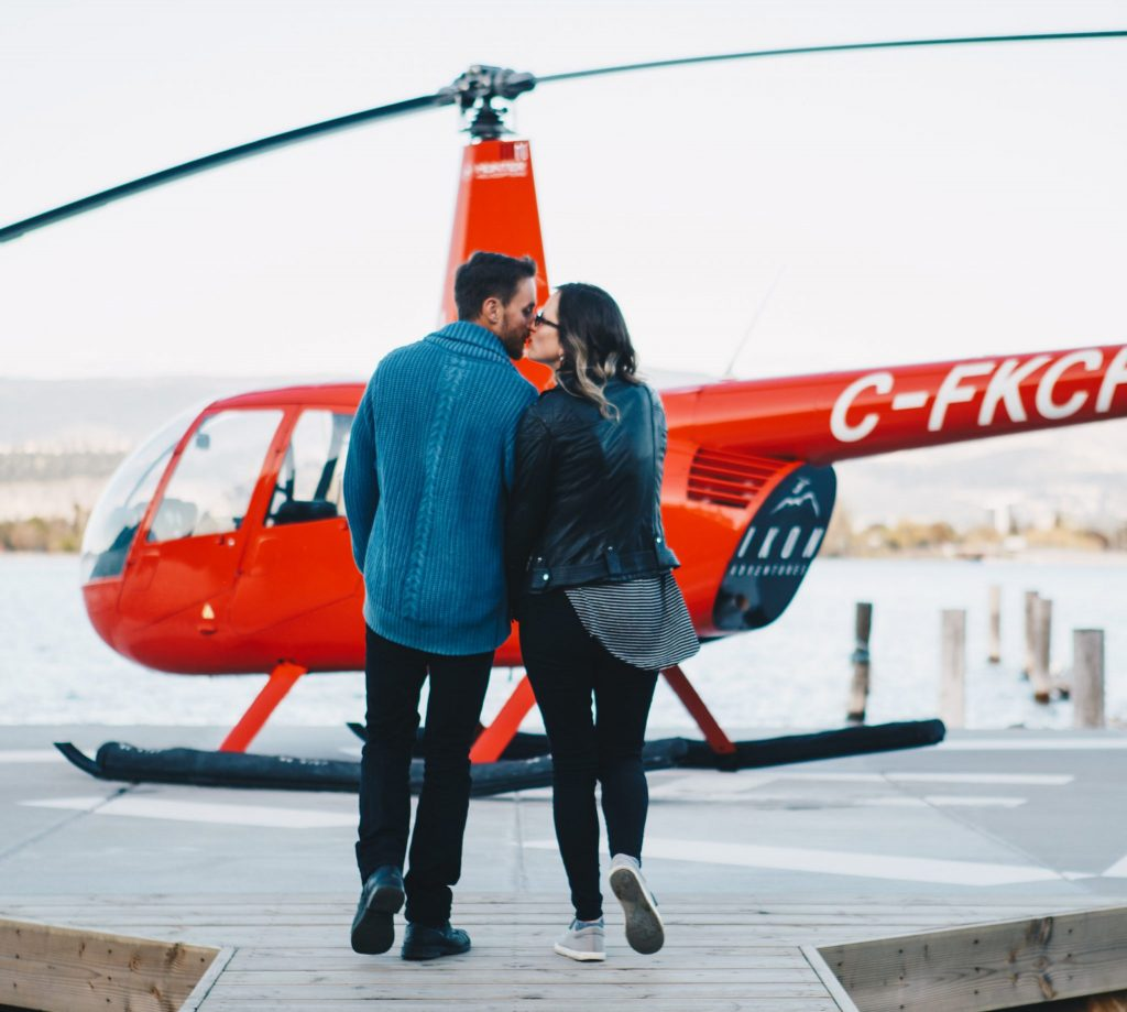 Celebrate the best things in life with a Helicopter Ride in the Okanagan!