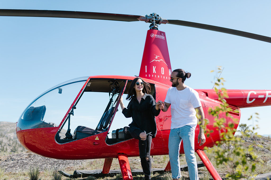 Kelowna Helicopter Tours | Ikon Adventures