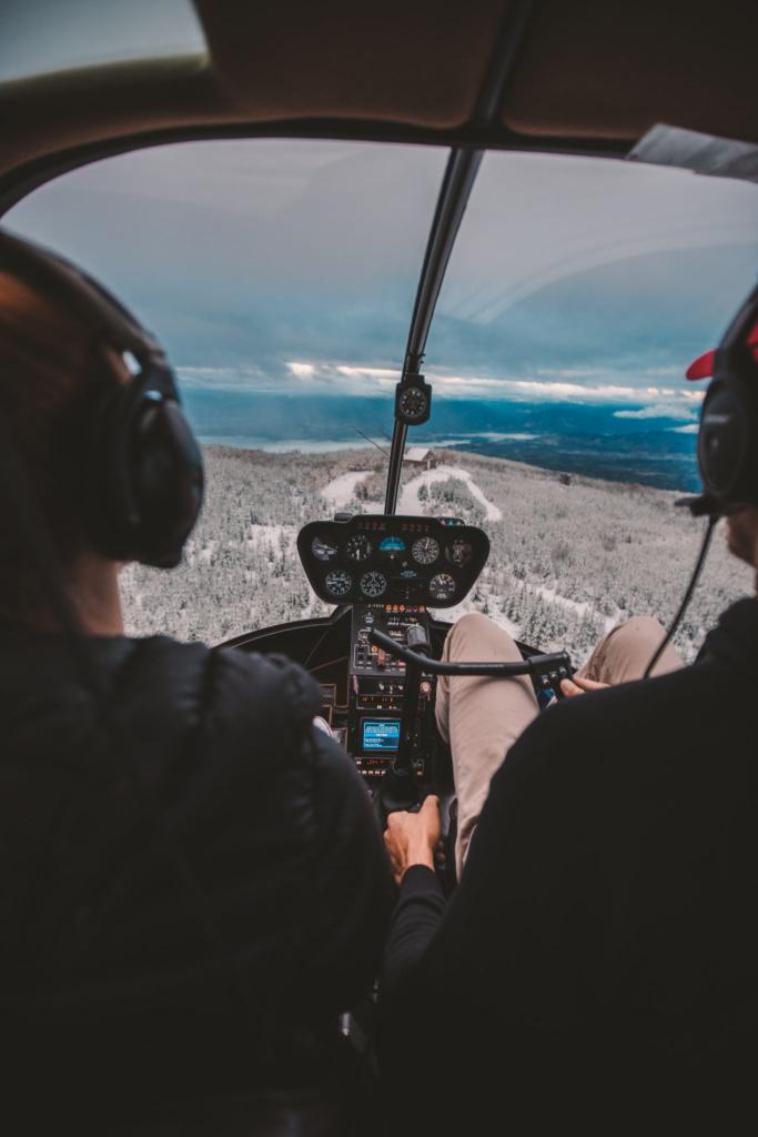 Helicopter Services - Okanagan BC | Ikon Adventures